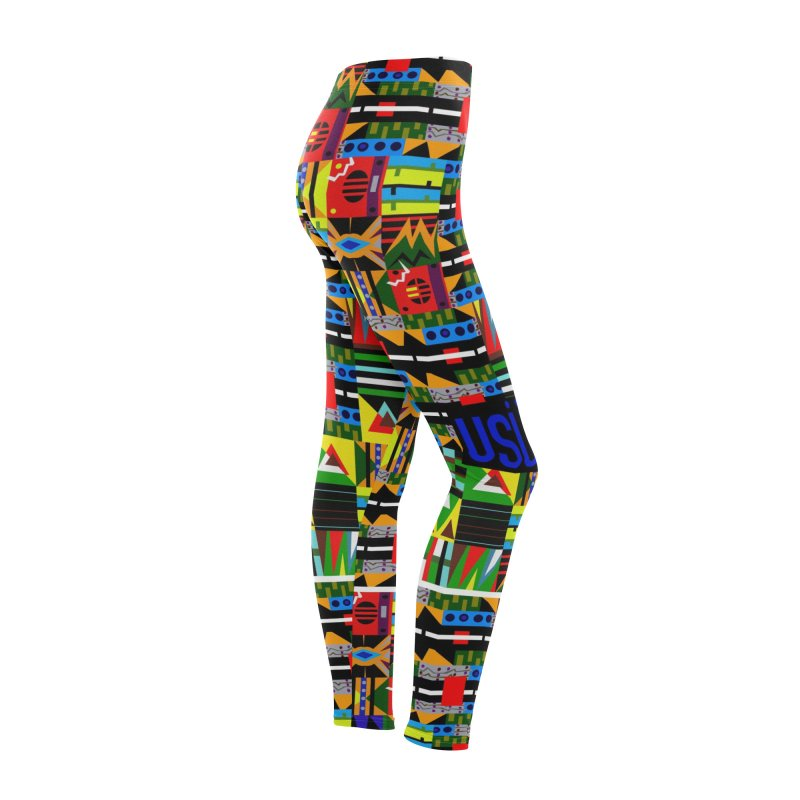 Afro Futuro Women's Bottoms by USUWE by Pugs Atomz