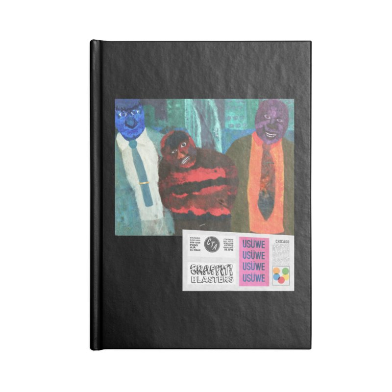 Graffiti blasters T Accessories Blank Journal Notebook by USUWE by Pugs Atomz