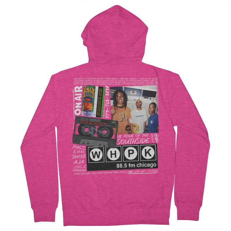 CTA RADIO 1999 Women's French Terry Zip-Up Hoody by USUWE by Pugs Atomz