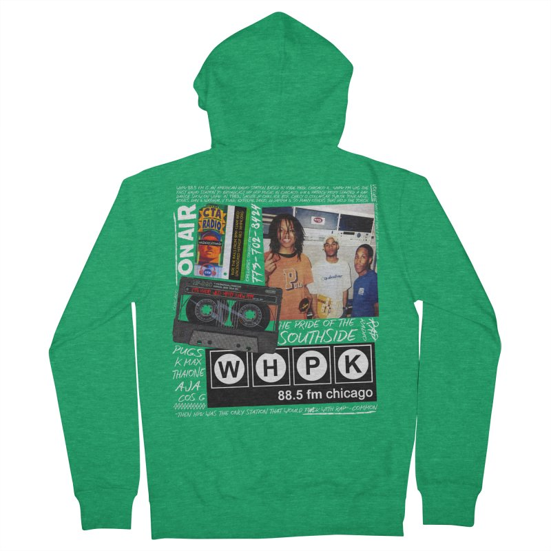 CTA RADIO 1999 Men's French Terry Zip-Up Hoody by USUWE by Pugs Atomz