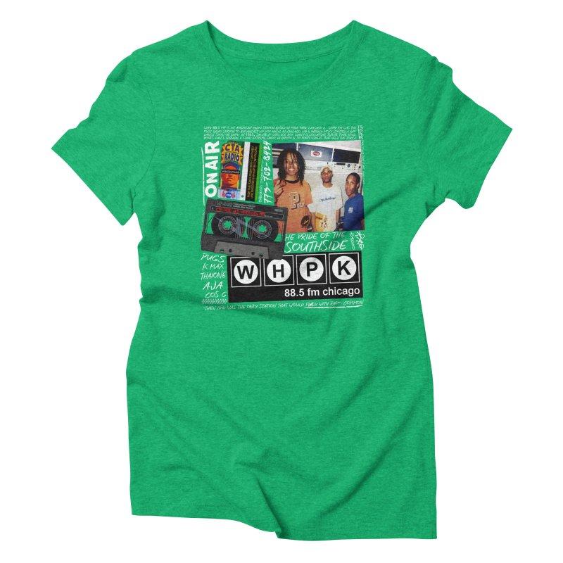 CTA RADIO 1999 Women's Triblend T-Shirt by USUWE by Pugs Atomz