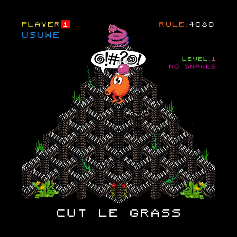 Cut Le Grass by USUWE by Pugs Atomz