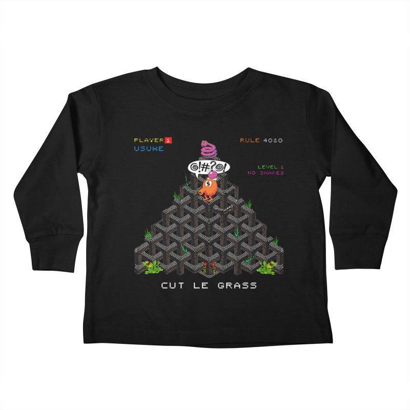 Cut Le Grass Kids Toddler Longsleeve T-Shirt by USUWE by Pugs Atomz