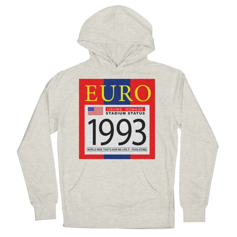 EURO P Women's Pullover Hoody by USUWE by Pugs Atomz