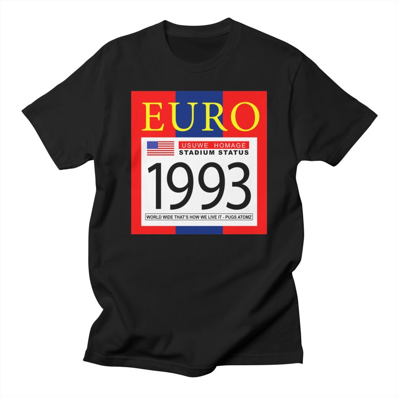 EURO P Women's Unisex T-Shirt by USUWE by Pugs Atomz