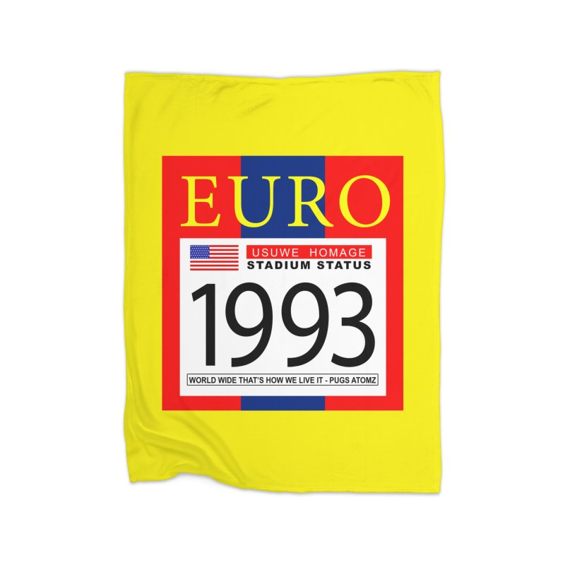 EURO P Home Blanket by USUWE by Pugs Atomz