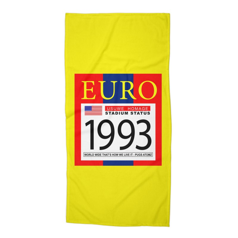EURO P Accessories Beach Towel by USUWE by Pugs Atomz