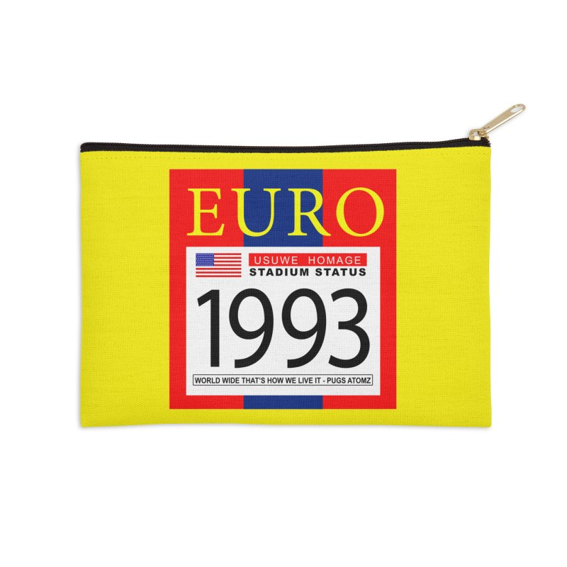 EURO P Accessories Zip Pouch by USUWE by Pugs Atomz