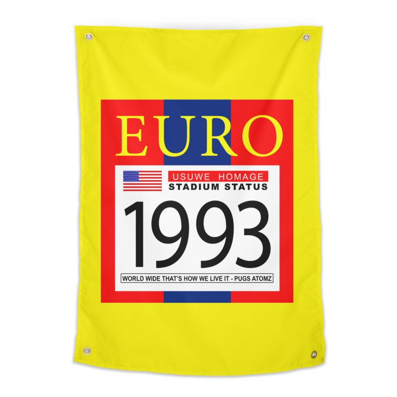 EURO P Home Tapestry by USUWE by Pugs Atomz