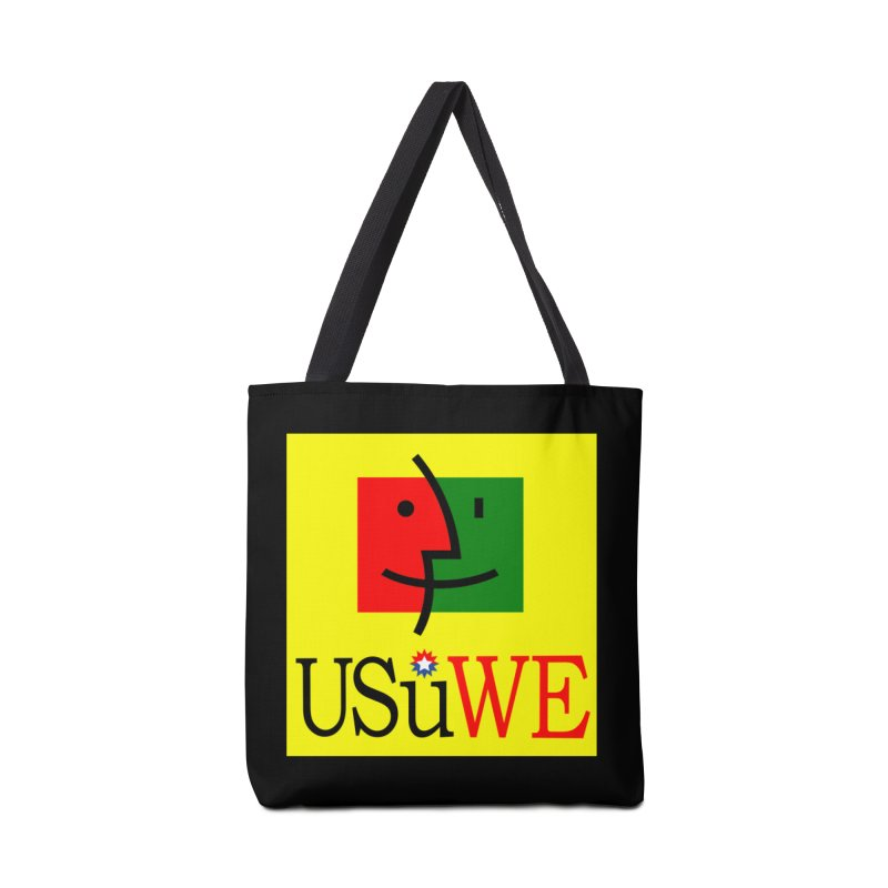 I shall Proceed and continue Accessories Bag by USUWE by Pugs Atomz