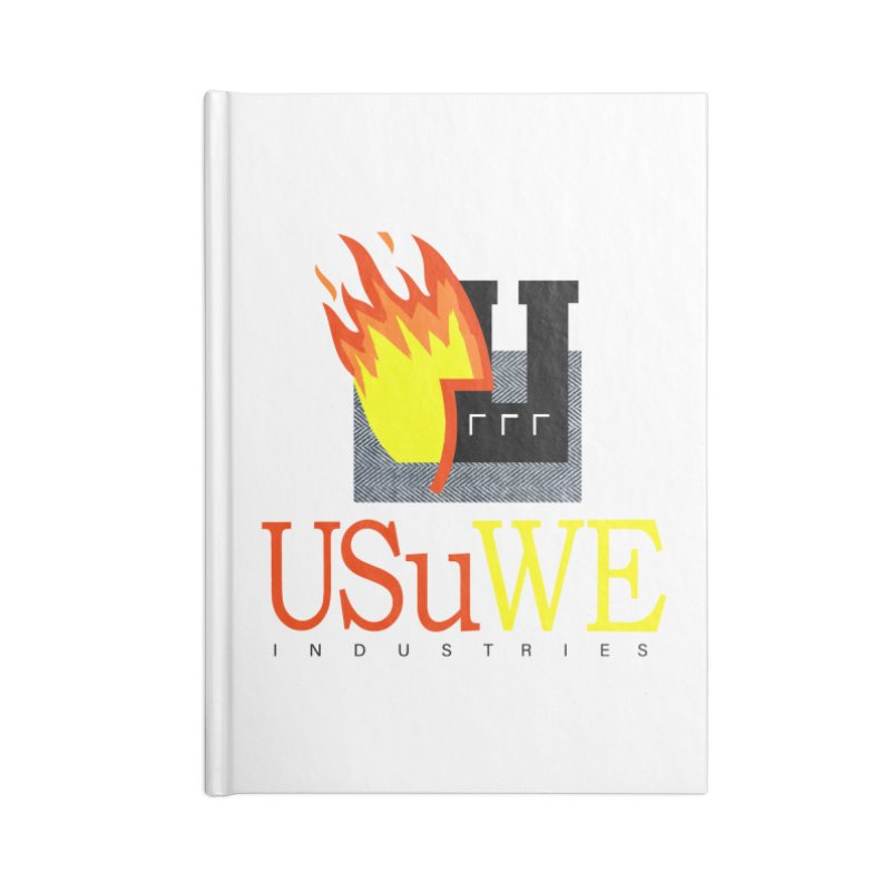 USUWE INDUSTRIES Accessories Notebook by USUWE by Pugs Atomz