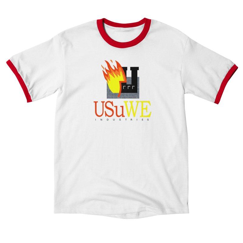 USUWE INDUSTRIES Men's T-Shirt by USUWE by Pugs Atomz