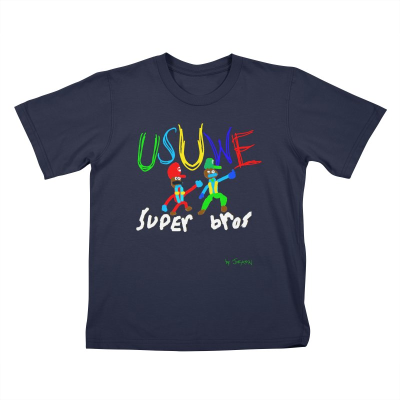 Super! Kids T-Shirt by USUWE by Pugs Atomz