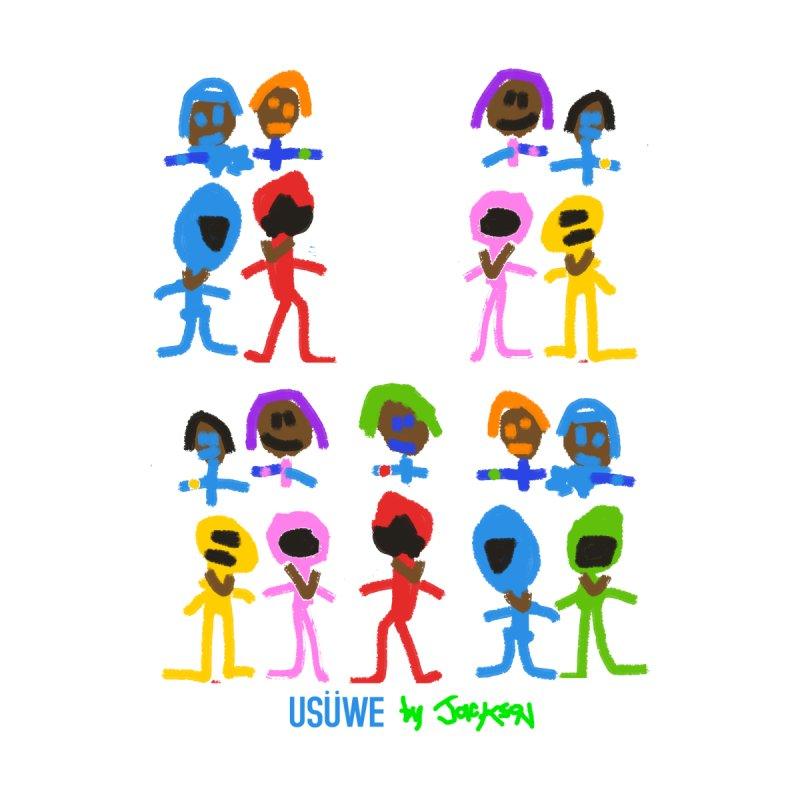 Power Friends Kids Toddler Longsleeve T-Shirt by USUWE by Pugs Atomz