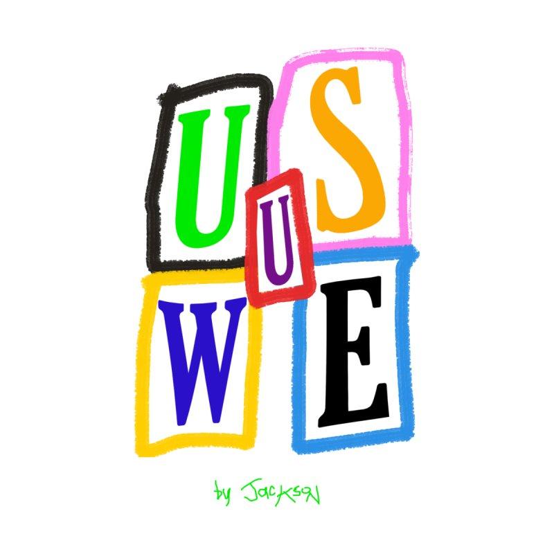 U Blocks Women's T-Shirt by USUWE by Pugs Atomz