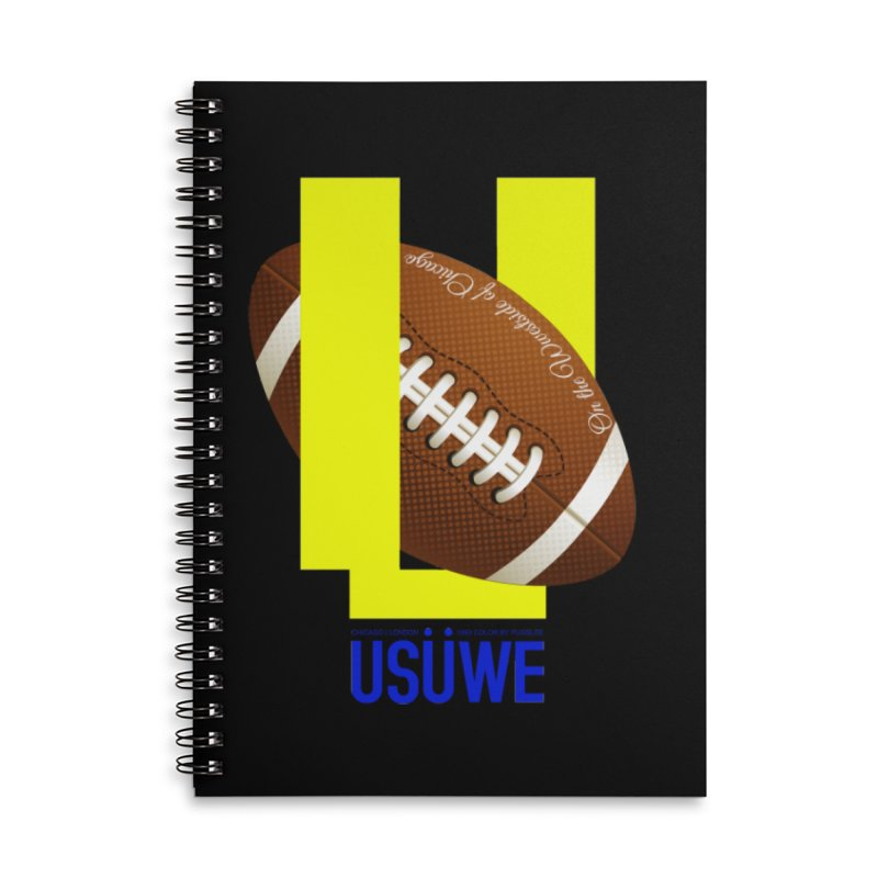 Madden Accessories Lined Spiral Notebook by USUWE by Pugs Atomz