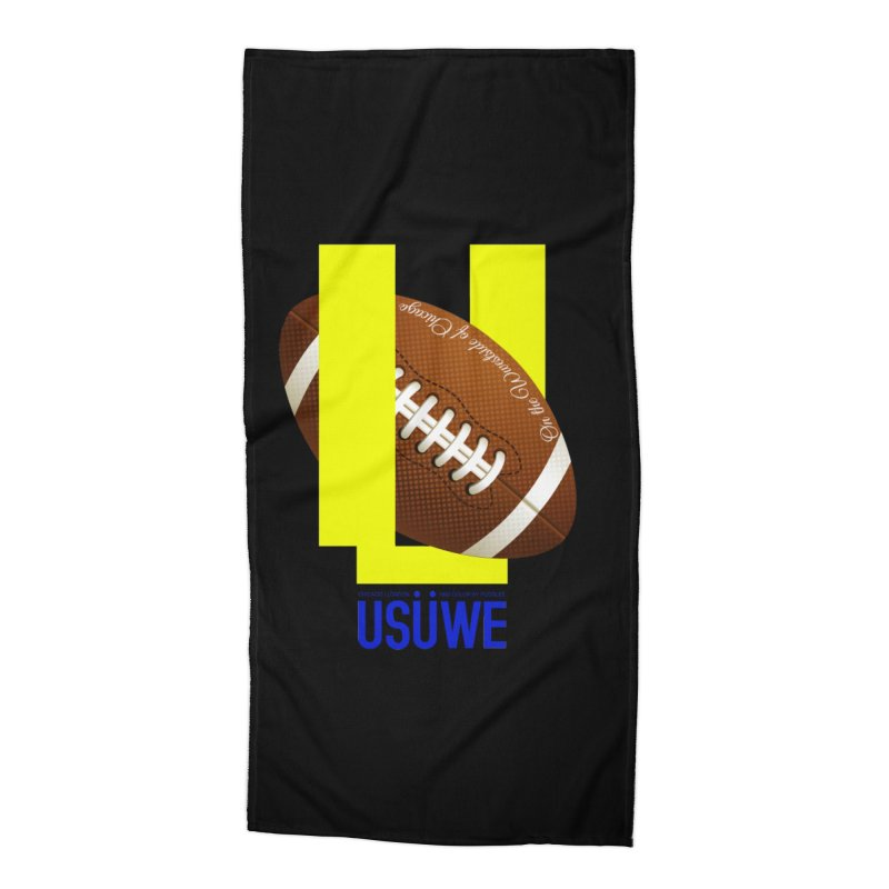 Madden Accessories Beach Towel by USUWE by Pugs Atomz