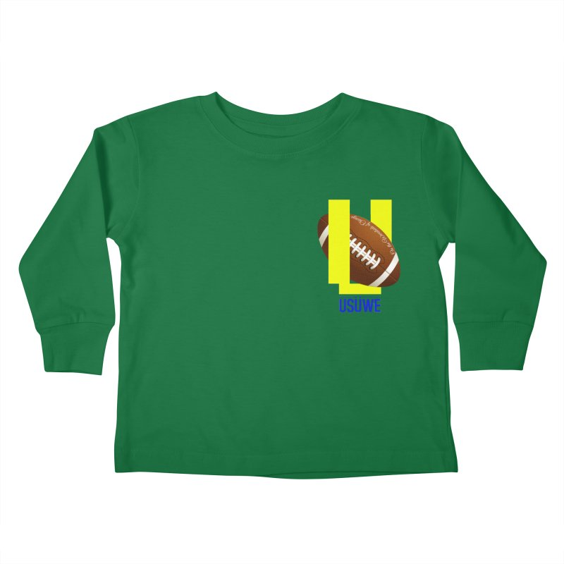 Madden Kids Toddler Longsleeve T-Shirt by USUWE by Pugs Atomz