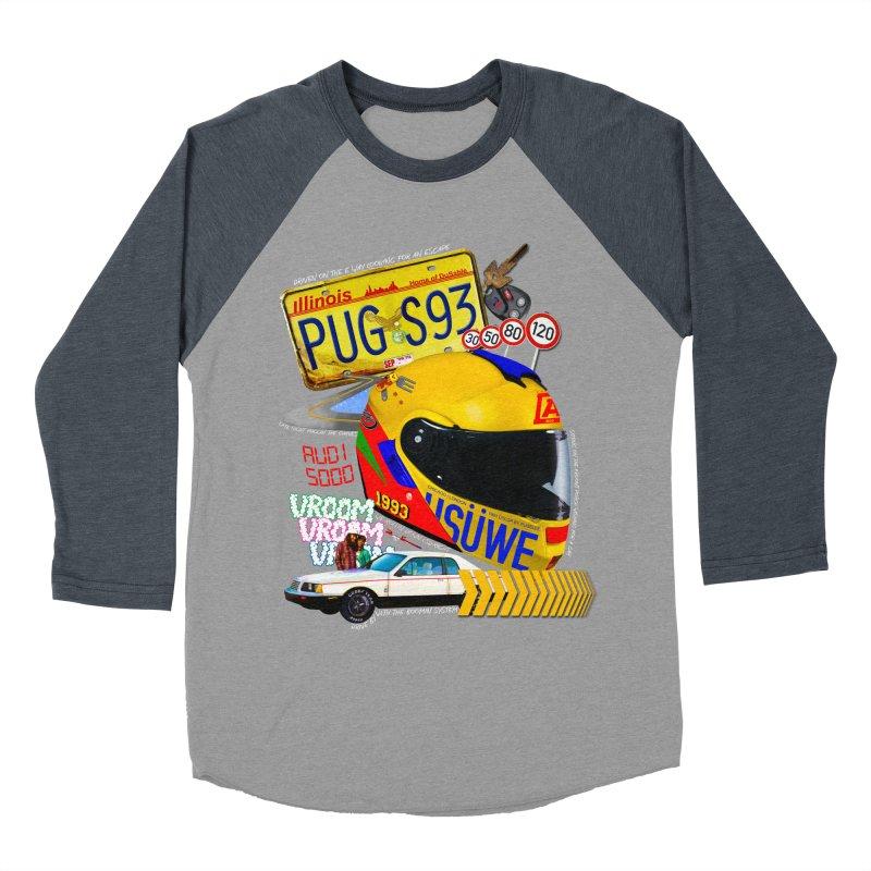 Audi 5000 Men's Baseball Triblend T-Shirt by USUWE by Pugs Atomz