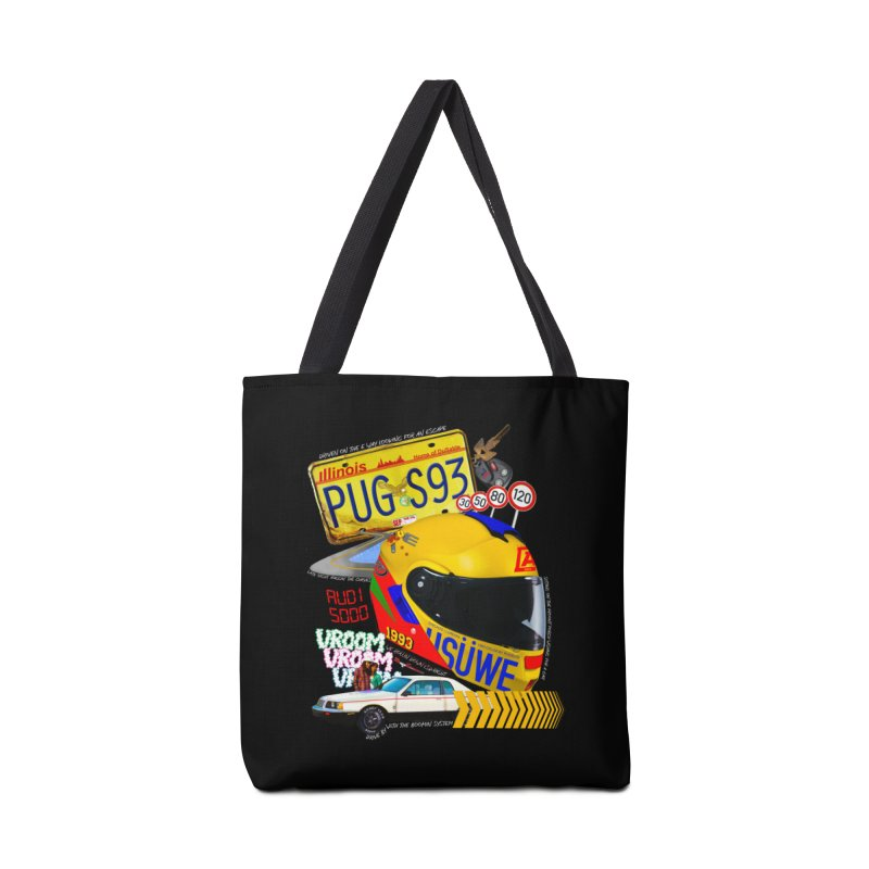 Audi 5000 Accessories Tote Bag Bag by USUWE by Pugs Atomz