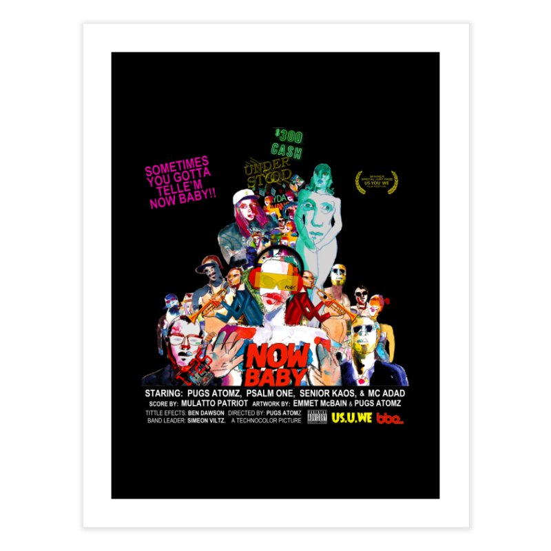 Now Baby Home Fine Art Print by USUWE by Pugs Atomz