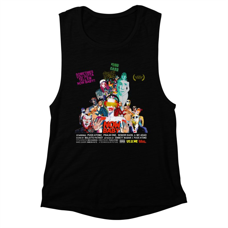 Now Baby Women's Muscle Tank by USUWE by Pugs Atomz