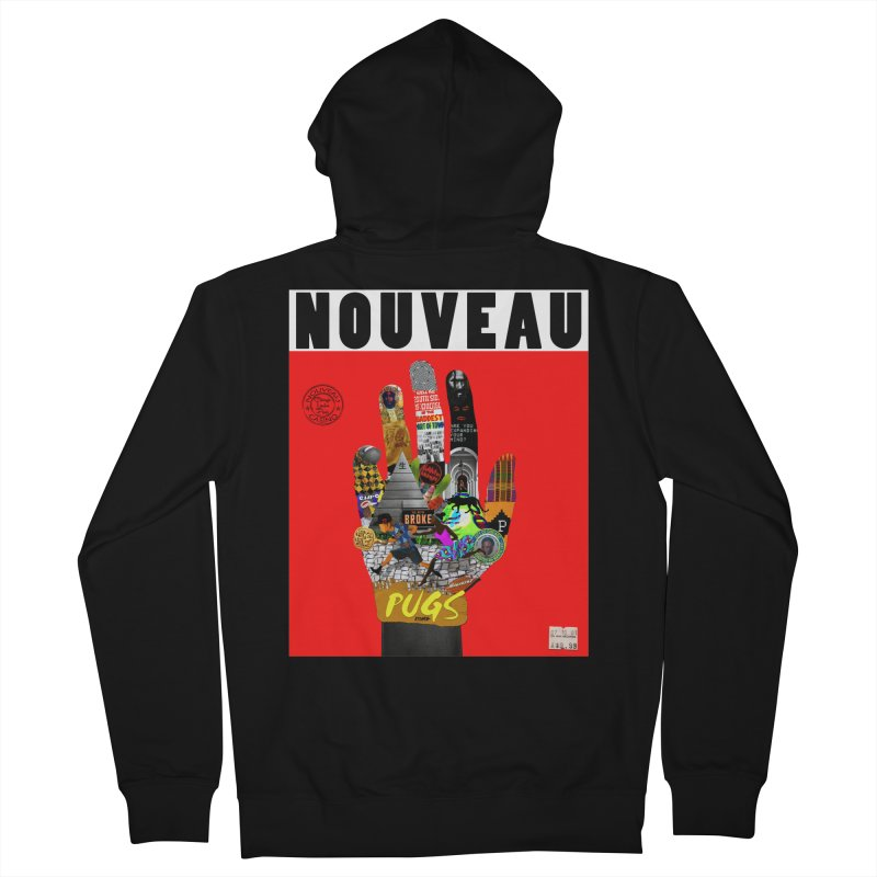 Nouveau Casino Men's Zip-Up Hoody by USUWE by Pugs Atomz