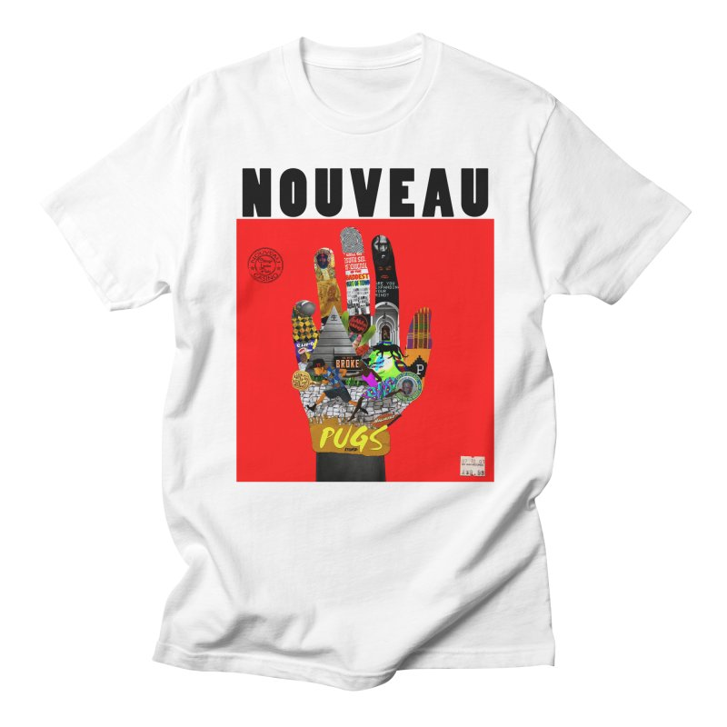 Nouveau Casino in Men's T-shirt White by USUWE by Pugs Atomz