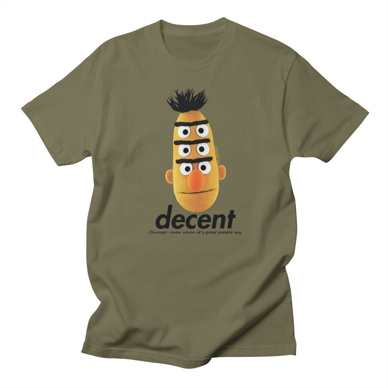 DECENT Men's T-shirt by USUWE by Pugs Atomz