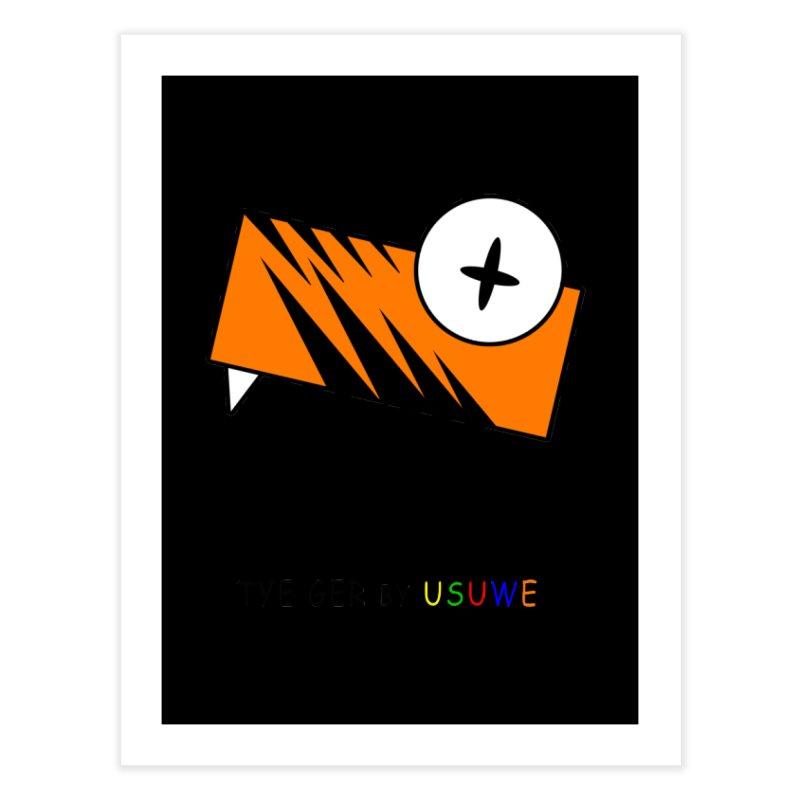 Tye Ger Home Fine Art Print by USUWE by Pugs Atomz