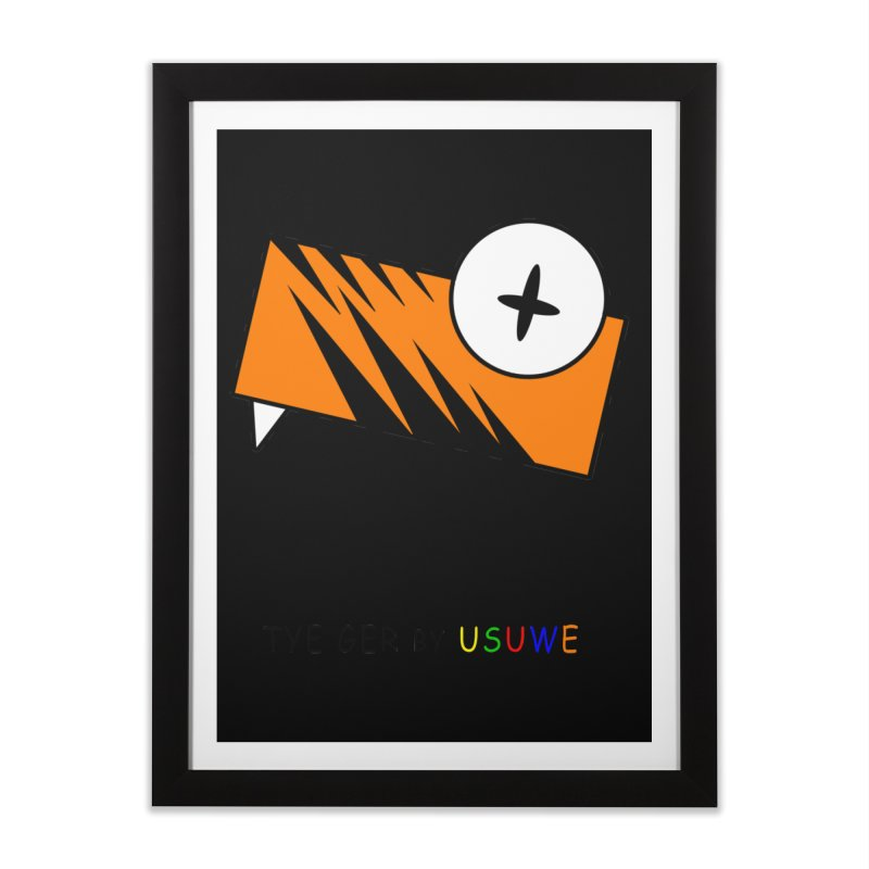 Tye Ger Home Framed Fine Art Print by USUWE by Pugs Atomz