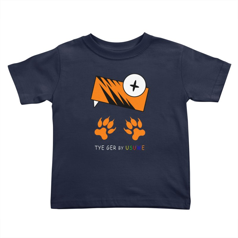 Tye Ger Kids Toddler T-Shirt by USUWE by Pugs Atomz