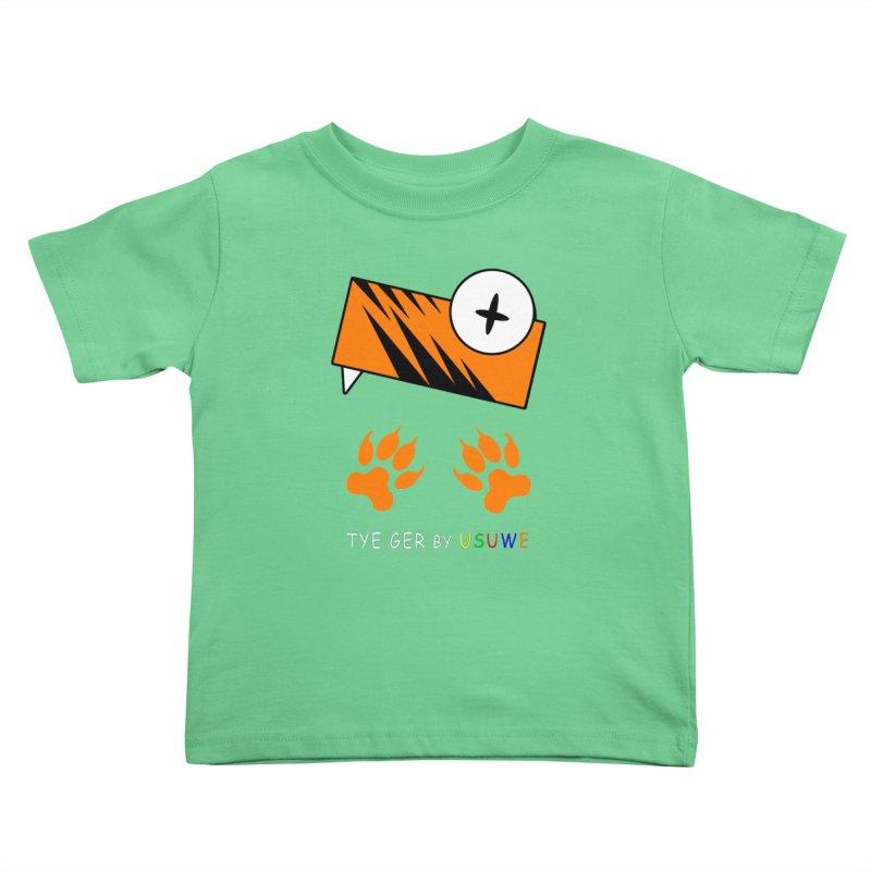 Tye Ger Kids Toddler T-Shirt by USUWE by Pugs Atomz