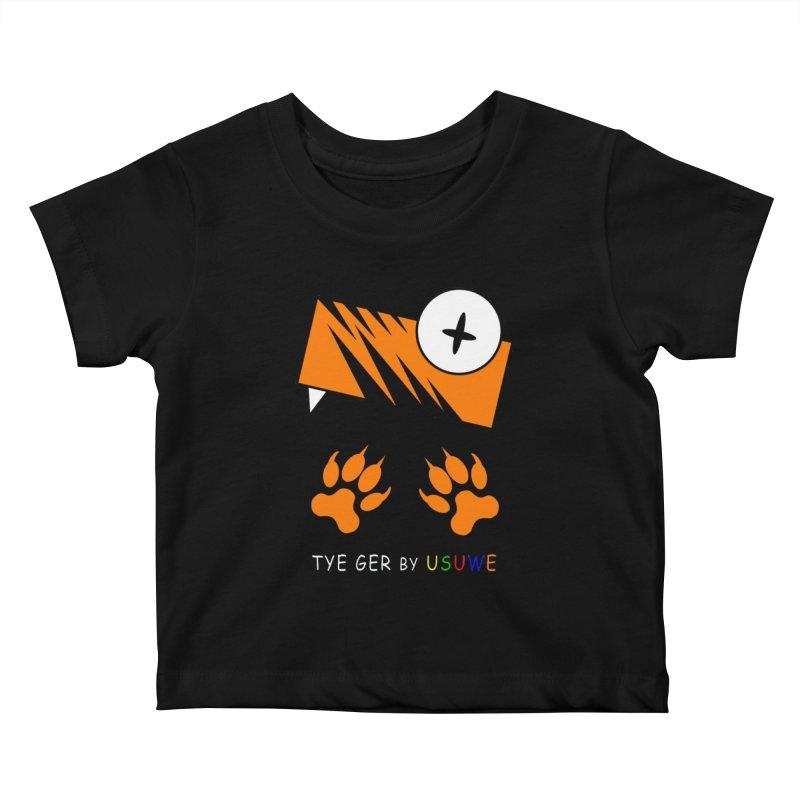 Tye Ger Kids Baby T-Shirt by USUWE by Pugs Atomz