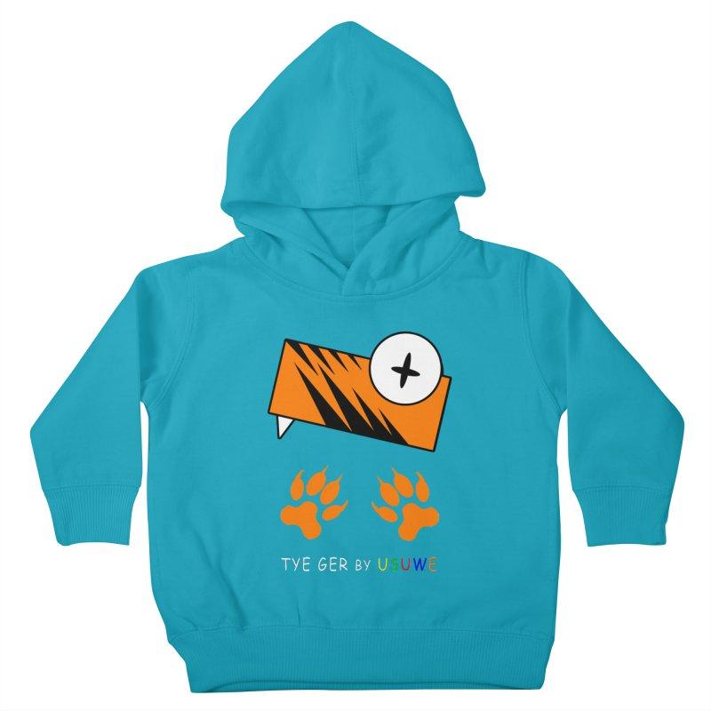 Tye Ger Kids Toddler Pullover Hoody by USUWE by Pugs Atomz