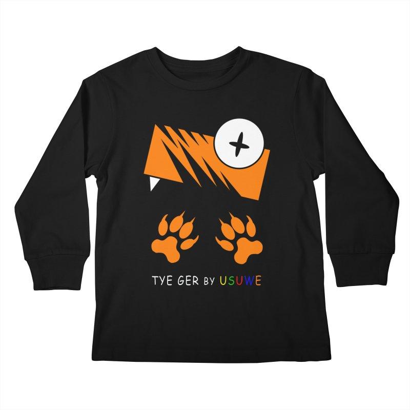 Tye Ger Kids Longsleeve T-Shirt by USUWE by Pugs Atomz
