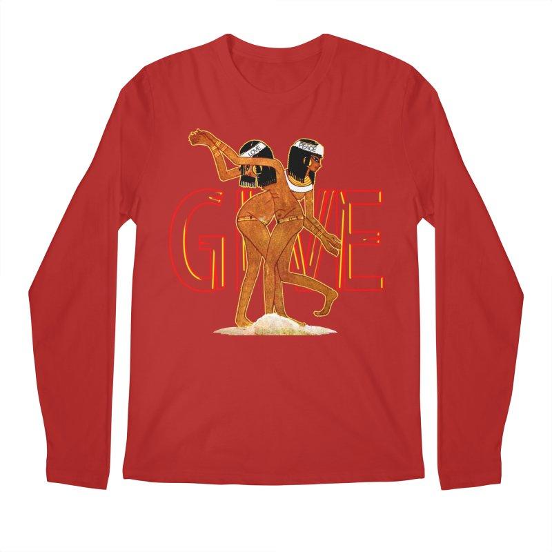 Love & Peace Men's Longsleeve T-Shirt by USUWE by Pugs Atomz