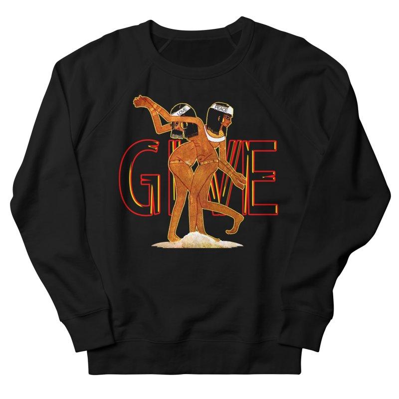 Love & Peace Men's Sweatshirt by USUWE by Pugs Atomz