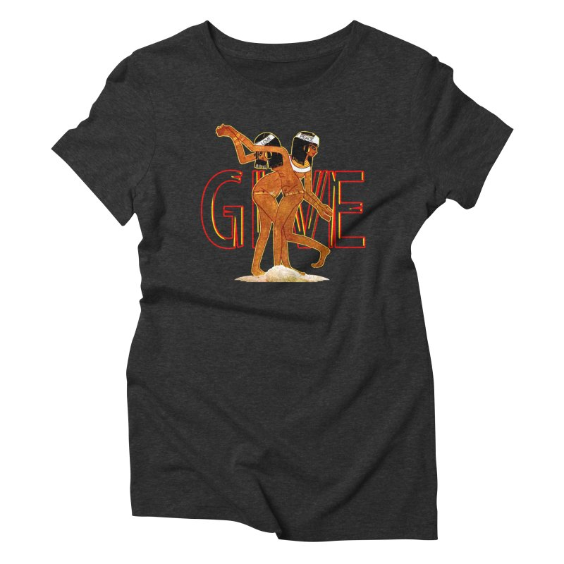 Love & Peace Women's Triblend T-Shirt by USUWE by Pugs Atomz