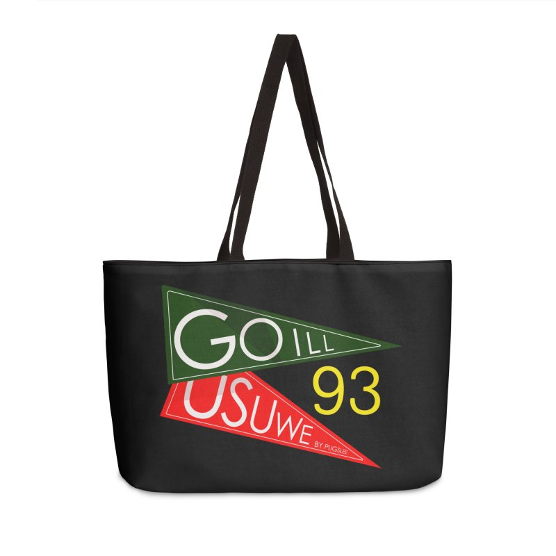 Game Day Accessories Weekender Bag Bag by USUWE by Pugs Atomz