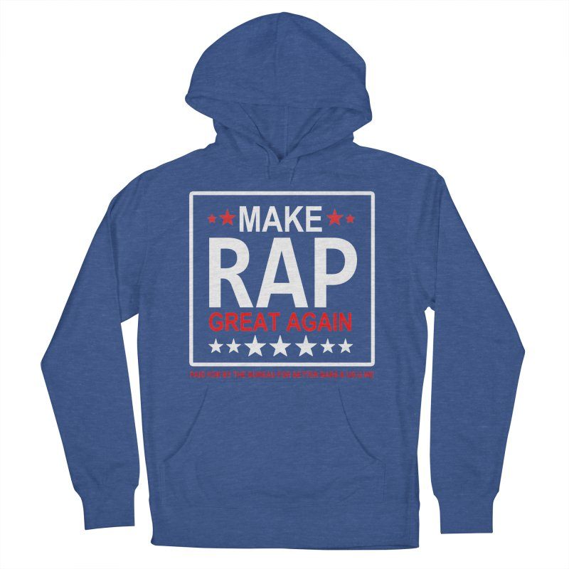 M.R.G.A. BLACK Men's Pullover Hoody by USUWE by Pugs Atomz
