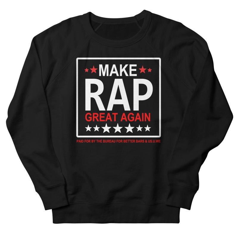 M.R.G.A. BLACK Men's Sweatshirt by USUWE by Pugs Atomz