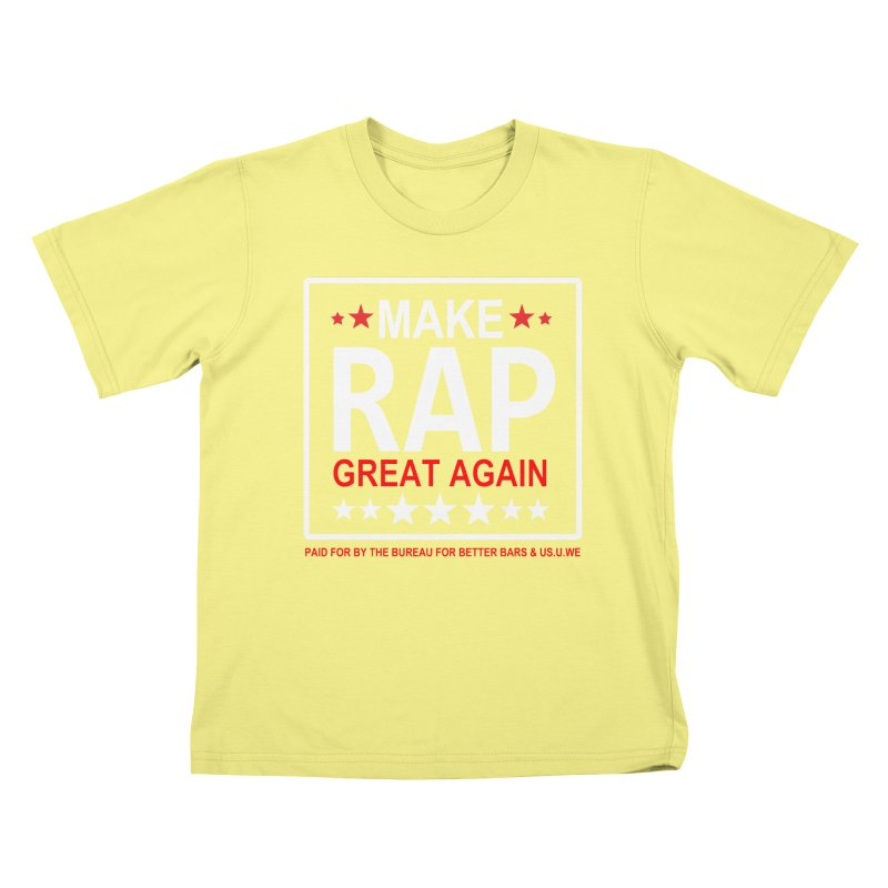 M.R.G.A. BLACK Kids T-shirt by USUWE by Pugs Atomz