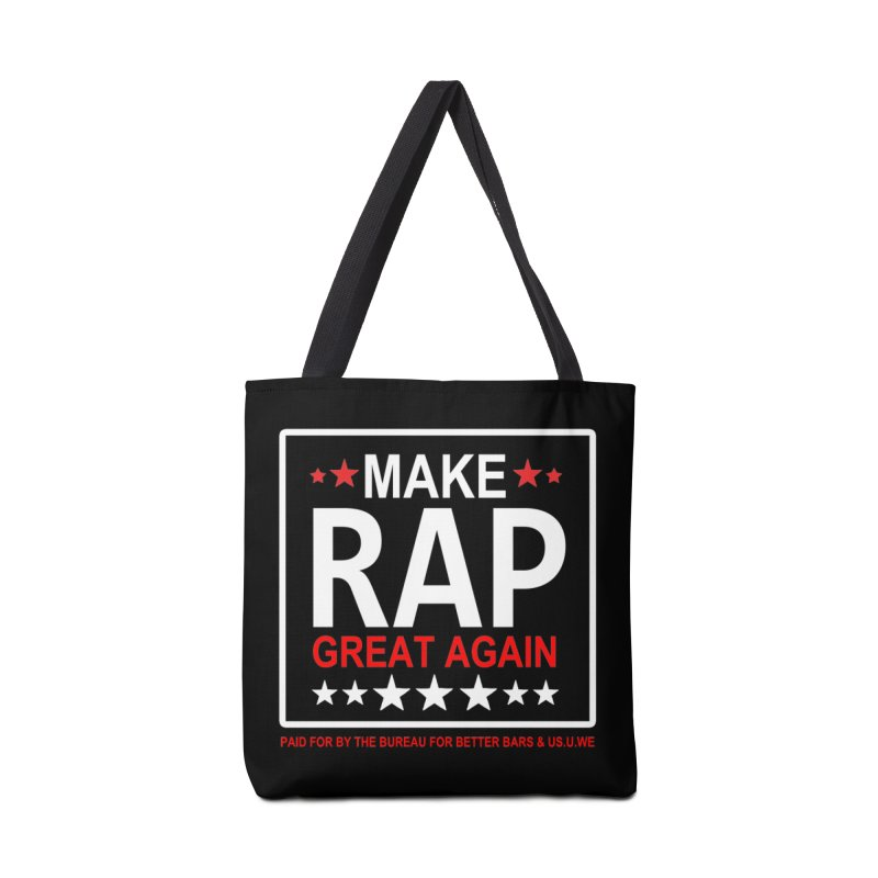 M.R.G.A. BLACK Accessories Bag by USUWE by Pugs Atomz