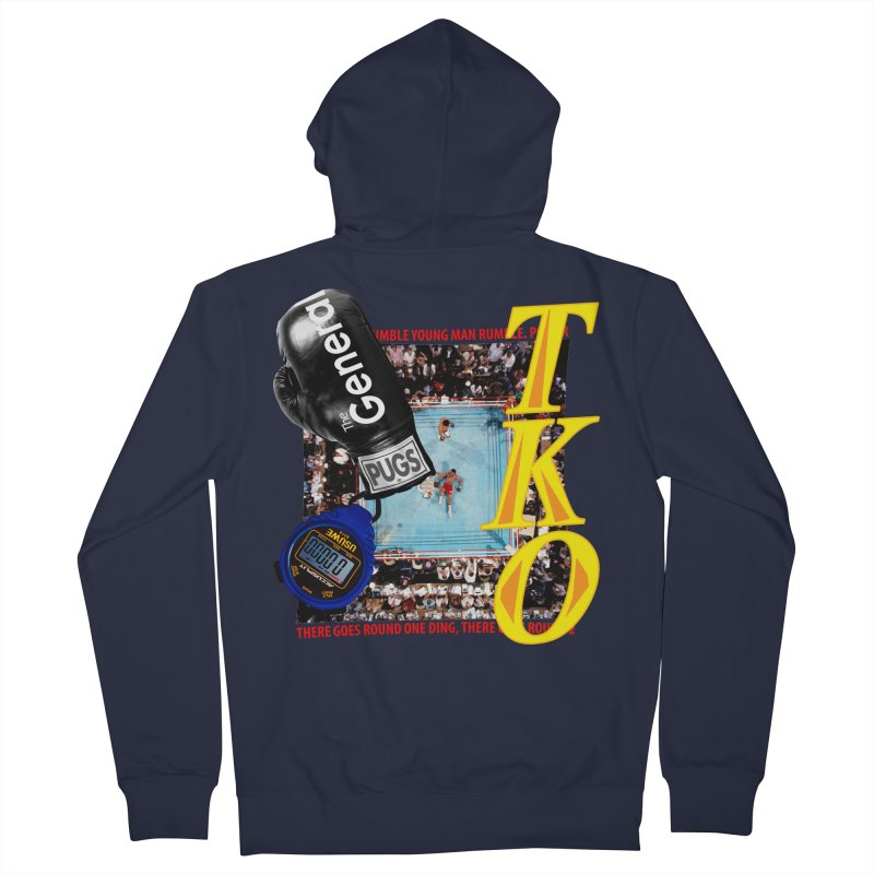 TKO Women's French Terry Zip-Up Hoody by USUWE by Pugs Atomz