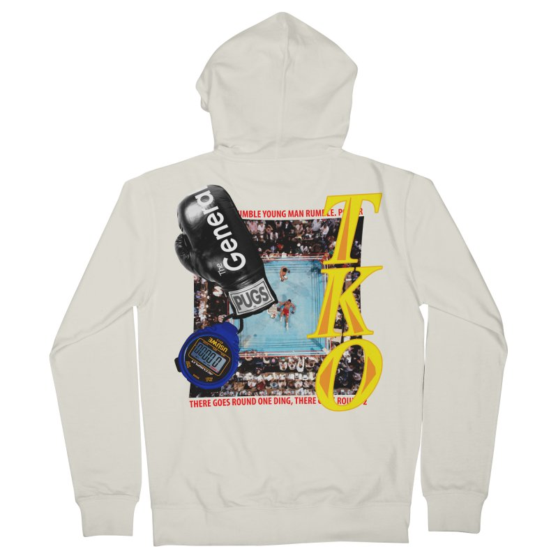 TKO Men's French Terry Zip-Up Hoody by USUWE by Pugs Atomz