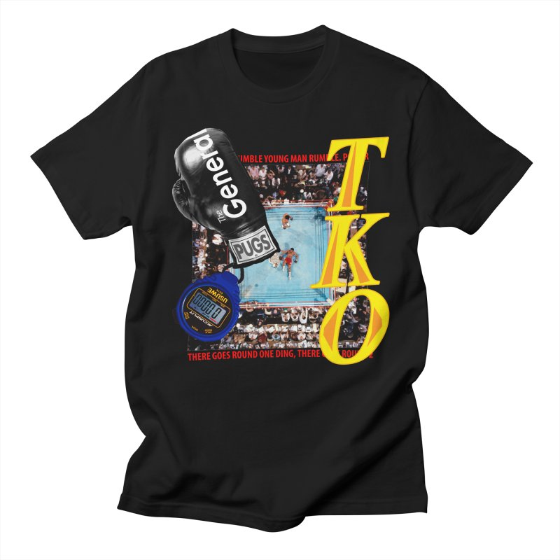 TKO Men's T-shirt by USUWE by Pugs Atomz