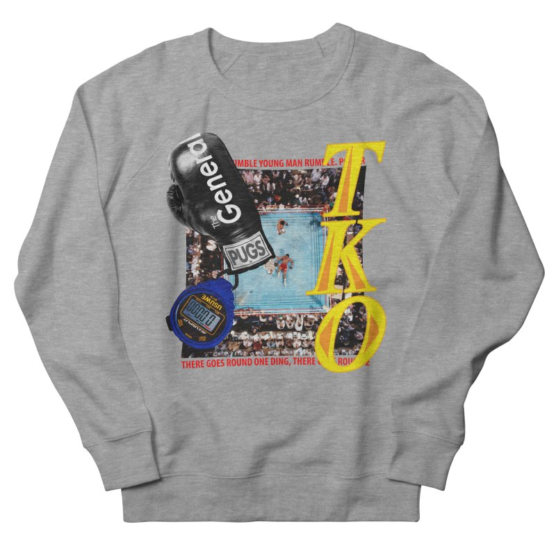 TKO Men's French Terry Sweatshirt by USUWE by Pugs Atomz
