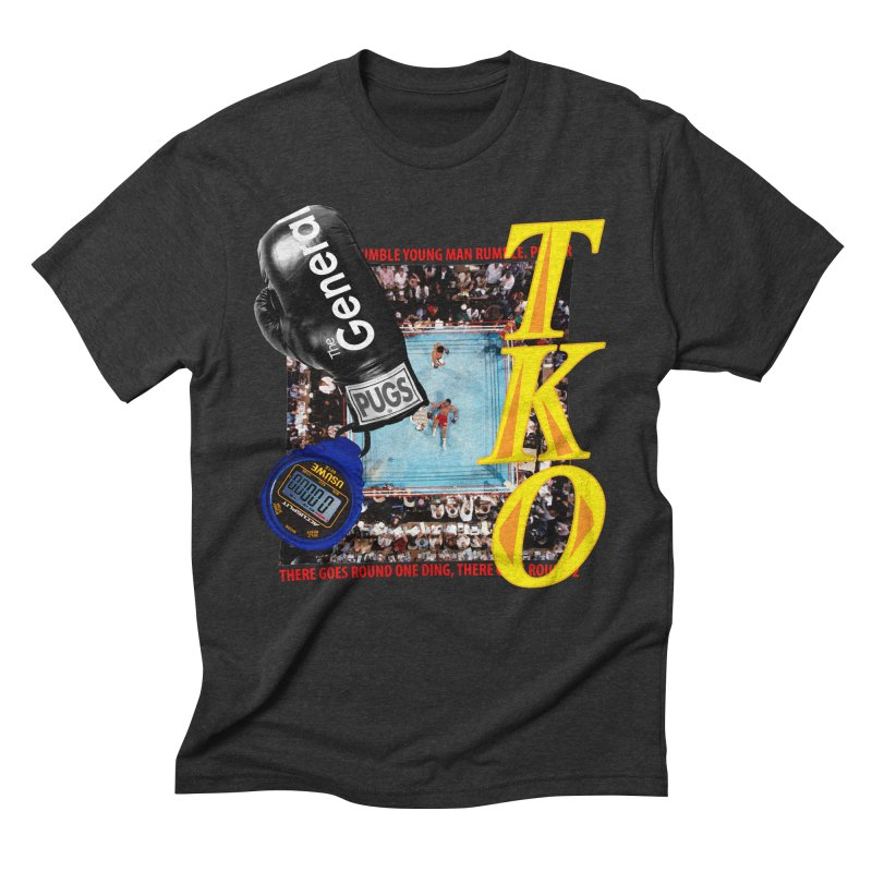 TKO Men's Triblend T-Shirt by USUWE by Pugs Atomz