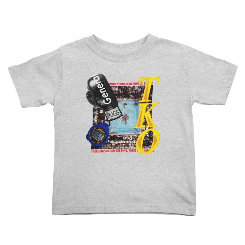 TKO Kids Toddler T-Shirt by USUWE by Pugs Atomz